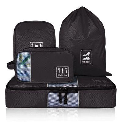 ECOSUSI Travel Accessories Storage Organizer 4 Pcs/Set Travel Bags
