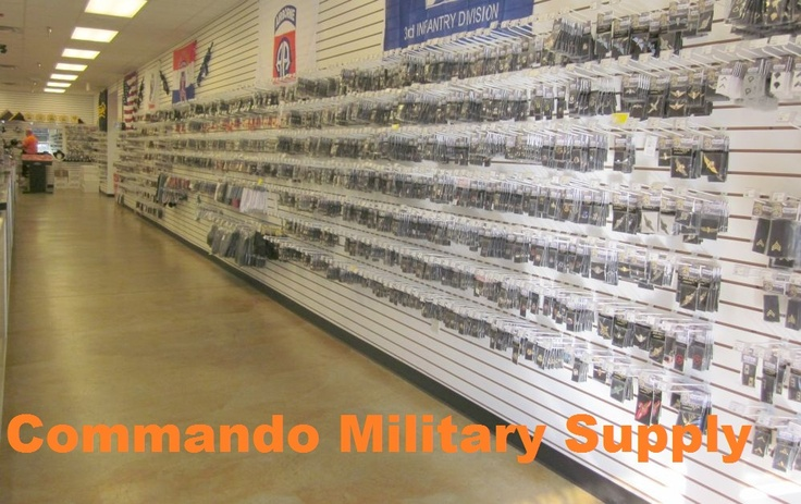 Is your Army Uniform lacking anything? Ribbons? Insignia? Medals? Come to Commando's and let us help you find it.