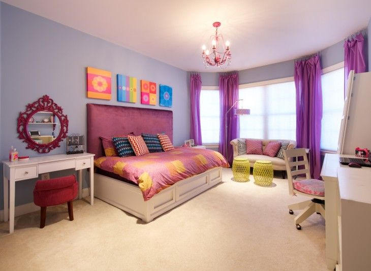 Bohemian Style Tween Room From Olamar Interiors - pictures, photos, images