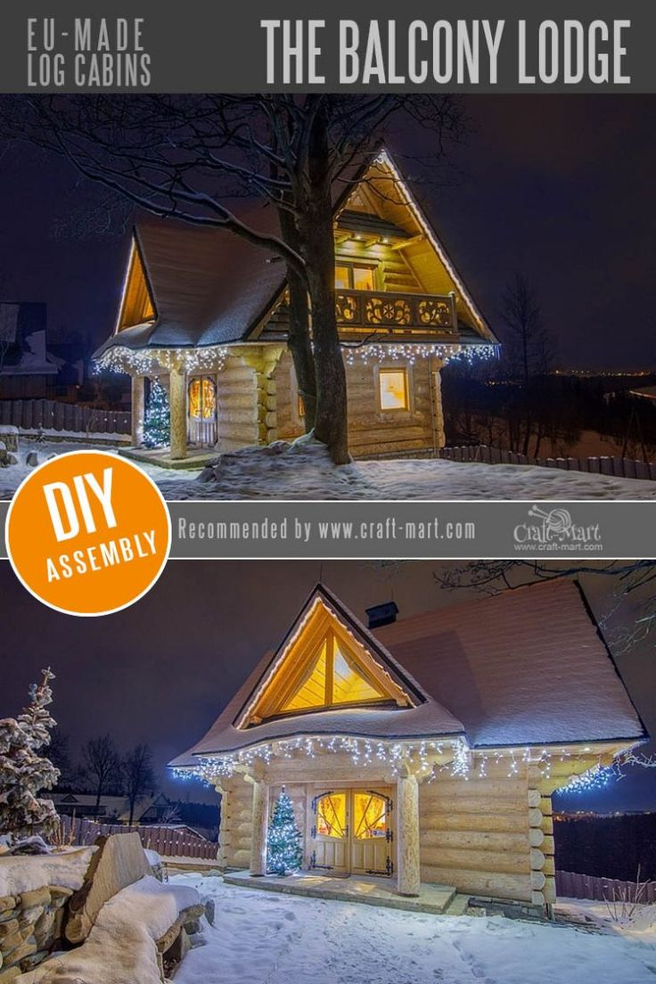 Amazing Fairy Tale-Style Pre-Built Cabins, Kits, and Custom Designs – Craft-Mart