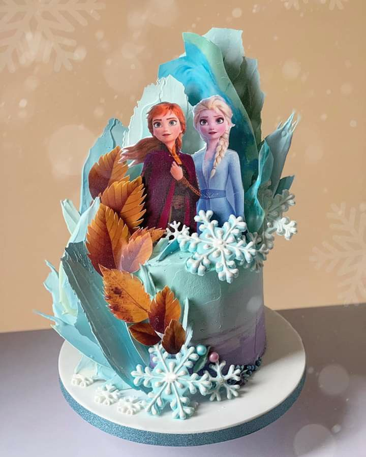 Pin By Guadalupe Noriega On ثيم فروزن Frozen Birthday Party Cake Frozen Birthday Cake Frozen Theme Cake
