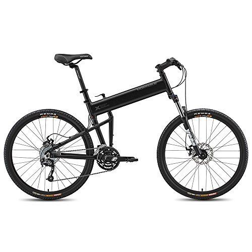 Montague Paratrooper Pro 9Speed Folding Mountain Bike 18 Matte Black -- To view further for this item, visit the image link.