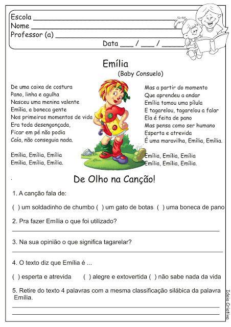 Rosangela.Aprendizagem: Sitio do Picapau Amarelo (Monteiro Lobato)