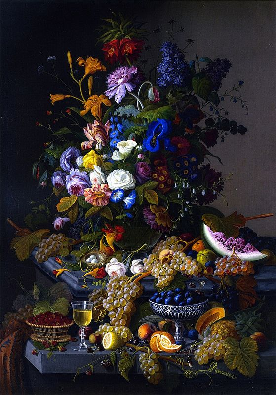 Severin Roesen - 'The Abundance of Nature'