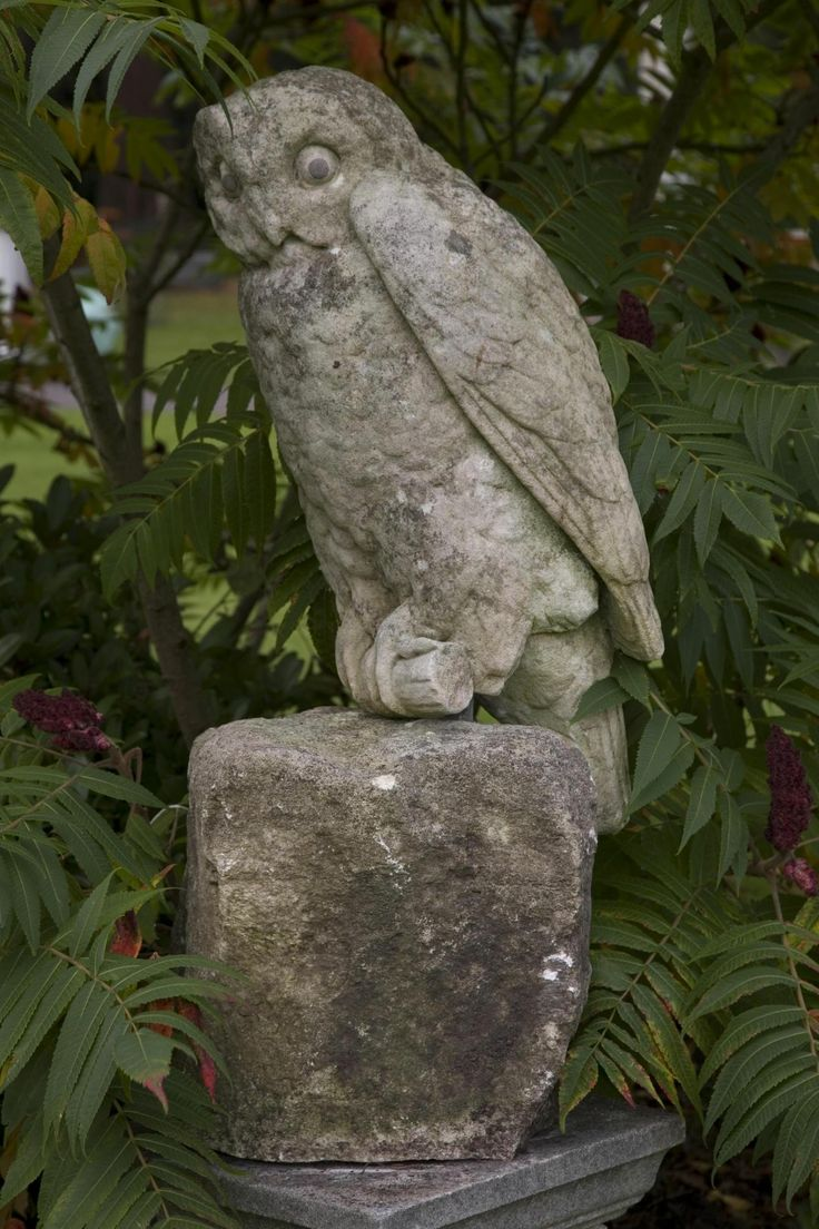 Owl lawn ornaments - 146 Best Images About Garden Statues Pots Etc On Pinterest Gardens Bird Baths And Garden Statues