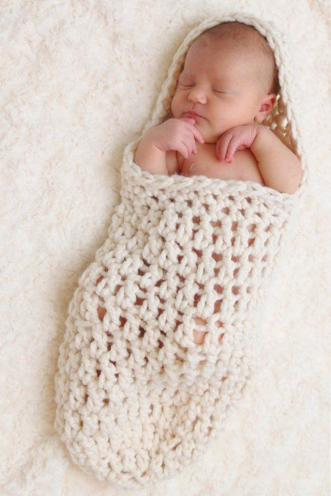 Easy Crochet Cocoon Patterns Free | have been seeing these adorable baby cocoons all over etsy so i ...