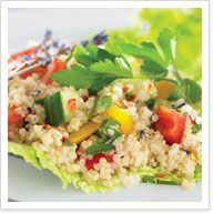 Add any of your favourite vegetables ... the dressing goes a really long way! Delicious if made the night before!