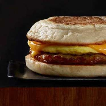 Sausage Cheddar-the worst. Starbucks. Nutrition: 500 calories, 28 g fat (9 g saturated), 920 mg sodium, 41 g carbs, 3 g sugar, 15 g protei... - Provided by Eat This, Not That!