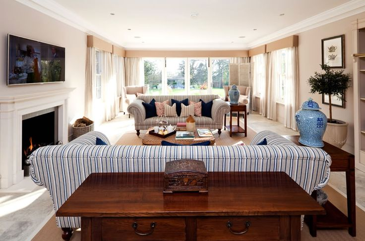 Alexander James Interiors, OXFORDSHIRE: COUNTRY FAMILY HOME - Alexander James Interiors