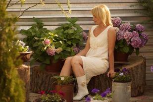 Платье для дома, для сада. / Фотофорум / Burdastyle
