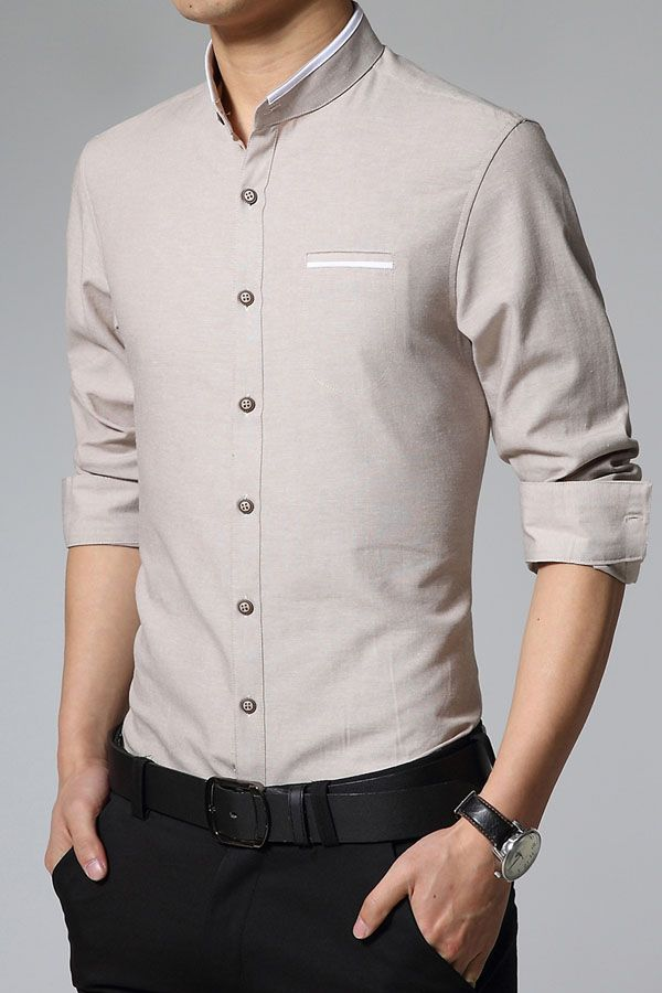 Stand Collar Blouse Designs : Best ideas about men shirts on pinterest man shirt