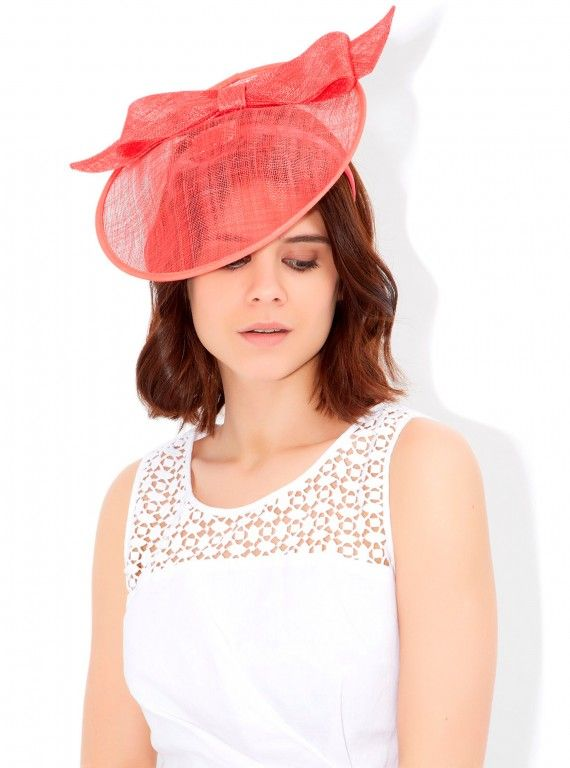 Monsoon Natalie fascinator, £29 Stand out from the crowd in Monsoon's coral fascinator. It's the ideal accent to a white or neutral dress.  Read more at http://www.womanandhome.com/galleries/fashion/35101/1/0/dresses-for-the-races#L5i6scMYvALYPMKj.99