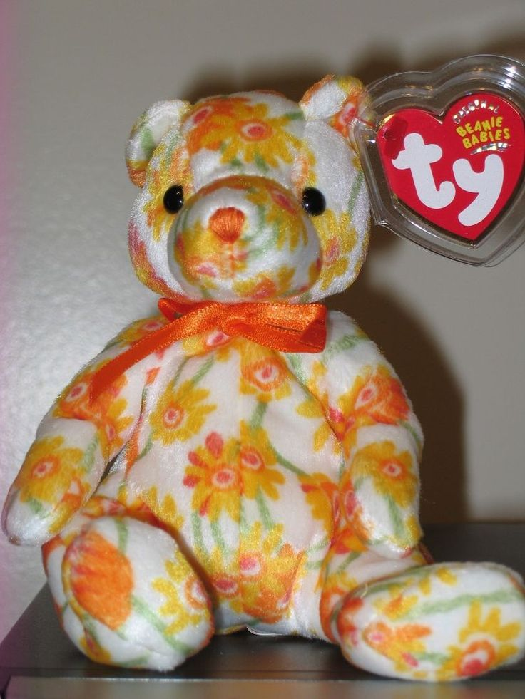 Ty Beanie Baby ~ SHASTA the Bear ~ MINT with MINT TAGS ~ RETIRED #TYBeanieBaby