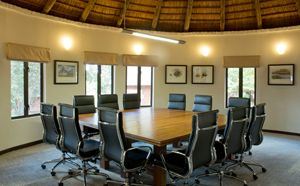 Corporate clients that wish to take a break from the city's confinements can take Advantage of Lilayi's modern board room.  The air-conditioned facility can seat up to 16 people and is ideally suited for presentations and meetings.