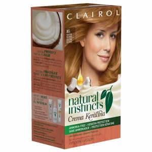 Buy Clairol Natural Instincts Crema Keratina Non-Permanent Hair Color, 8G Golden Blonde with free shipping on orders over $35, low prices & product reviews | drugstore.com