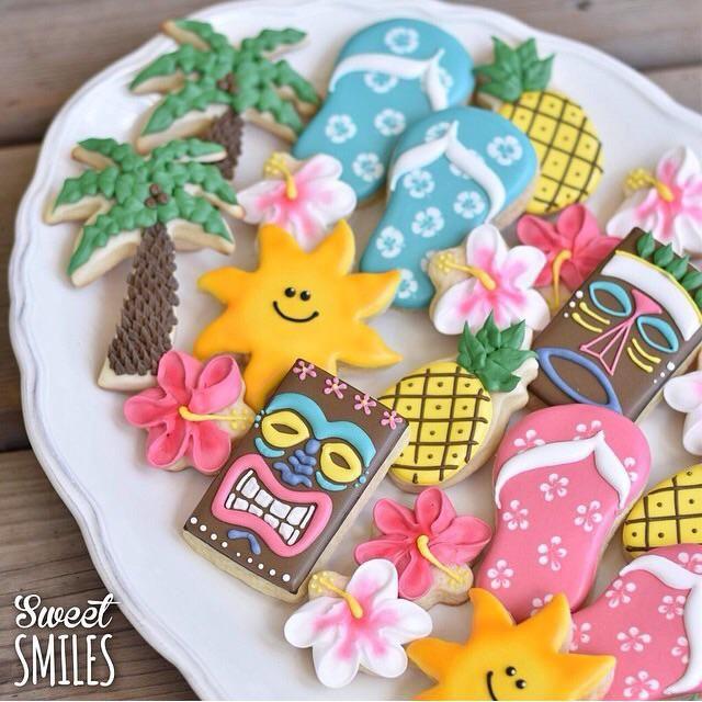 Hawaiian Luau Platter | Cookie Connection