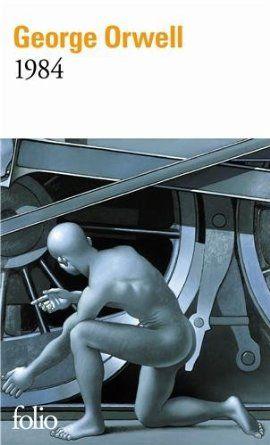 """1984"" de George Orwell #livres #book #lecture #litterature"