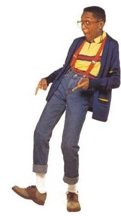 "Steve Urkel. A true hipster!   ""Did I do that""?"