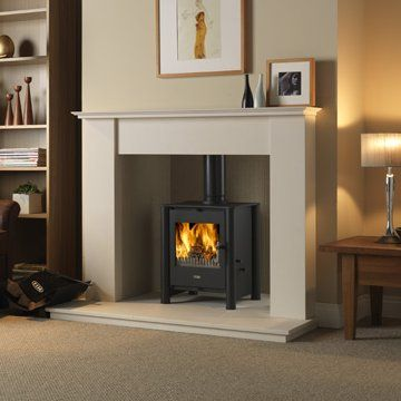 Esse 525 stove multifuel with black legs