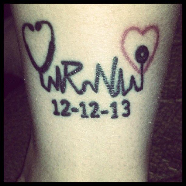 Czeshop Images Registered Nurse Symbol Tattoo