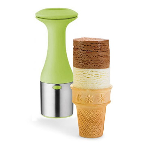 Reminds me getting ice cream at Thrifties!! Does anyone else remember that? Five cents a scoop!! Cuisipro® Ice Cream Scoop & Stack