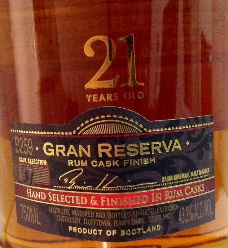 Glenfiddich 21yo Gran Reserva 43.2%