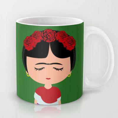 Frida Kahlo Mug by Creo tu mundo - $15.00