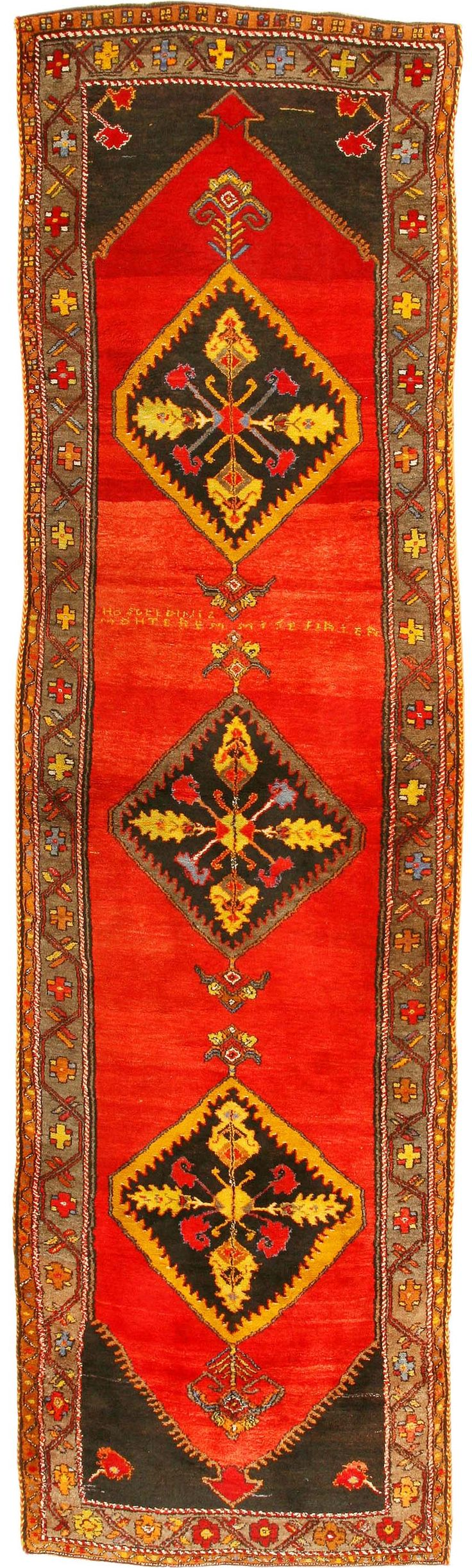Antique Karabagh Caucasus  Would place this on the floor in my galley kitchen
