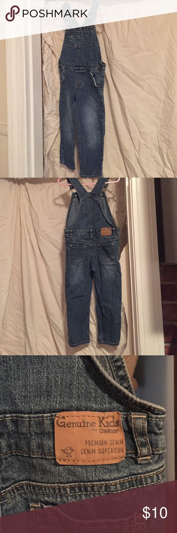 Toddler kids denim jeans overalls. Toddler demin jeans overalls. Osh Kosh One Pieces