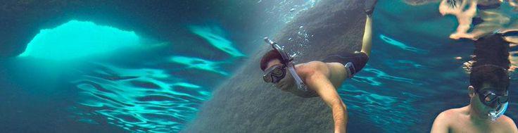#Mar #Mediterraneo en #tarragona #buceo en #apnea en #cuevas www.desdedentro.net