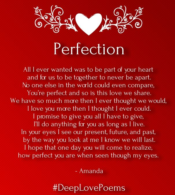 Deep Love Poems for Her with Images