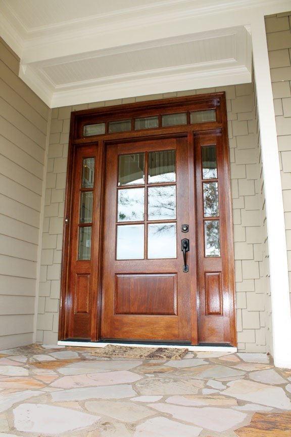 55 best square top doors images on pinterest collection for Colonial entry door