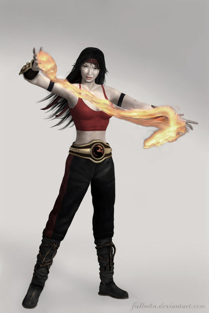Mortal kombat kitana and liu kang love - photo#22