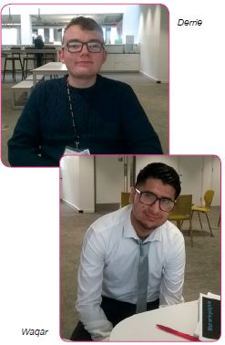 Hear from two students busy on their internship