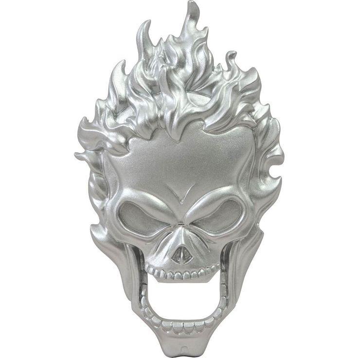 Diamond Select Toys - Marvel Ghost Rider Bottle Opener - Enameled Silver