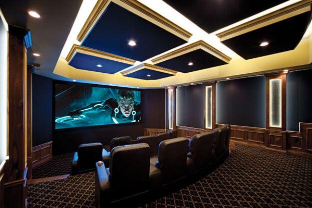 Stylish Home Theater - Bundle of Ideas