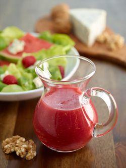 Watermelon Raspberry Vinaigrette #watermelon #dressing #client