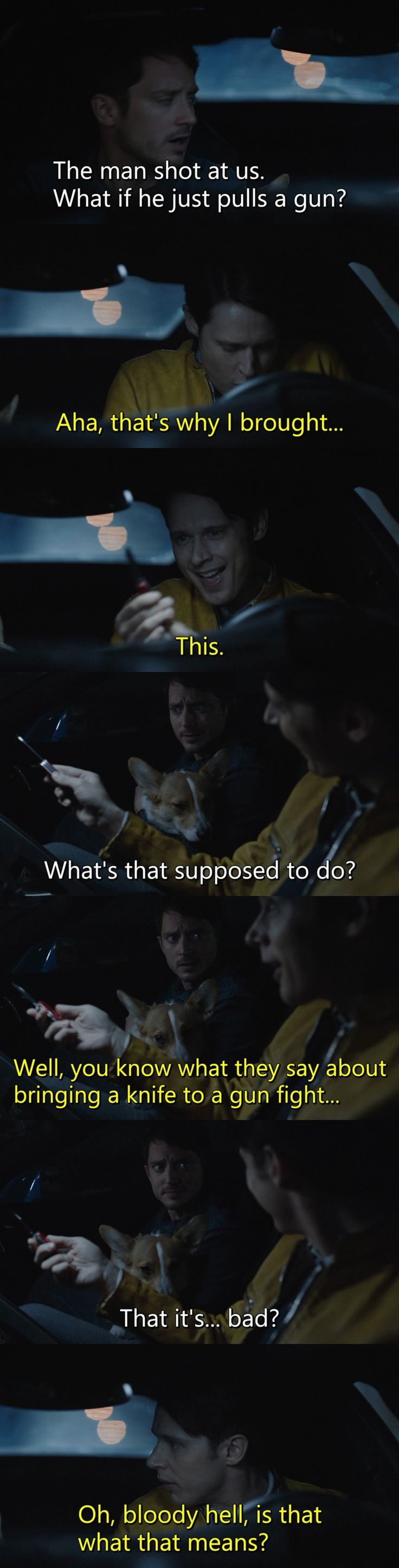TVShow Time - Dirk Gently's Holistic Detective Agency S01E02 - Lost and Found