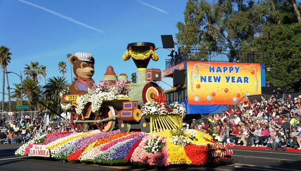 Rose Parade Tour Packages