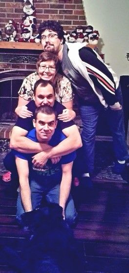 Pile on family