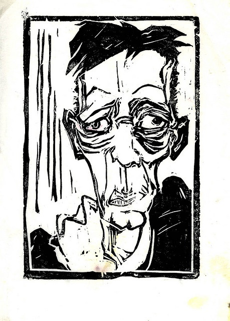 Egon by Xylographile, via Flickr