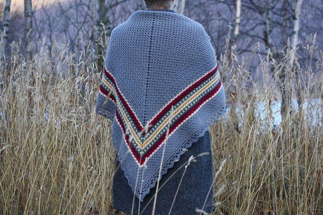 VÅRLI : Nordic Shawl - et nydelig sjal
