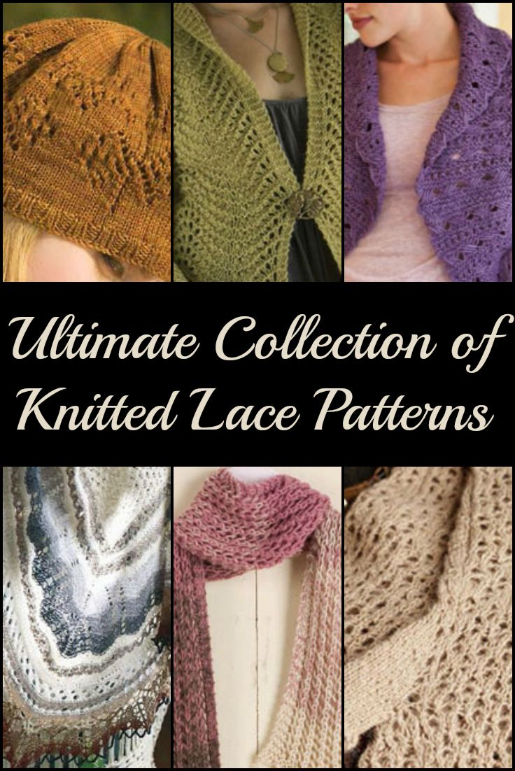 77 best Lace Knitting images on Pinterest