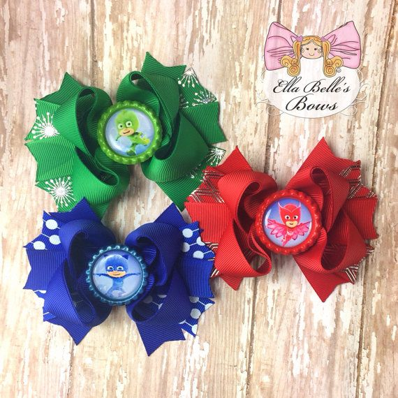 Black Friday Special!!! Only available until Monday!!! PJ Mask Bow Set
