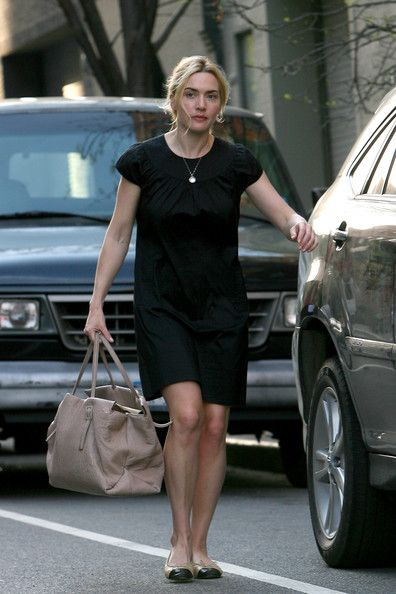 Kate Winslet Photos: Kate Winslet and Sam Mendes Walk the Kids to School