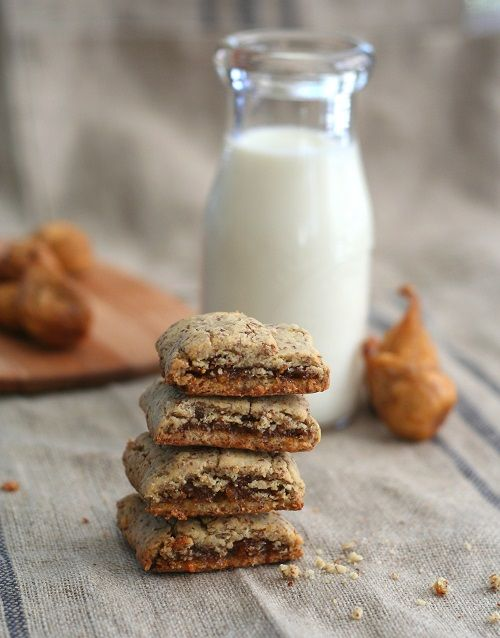 Gluten-Free Homemade Fig Newtons with no added sugar