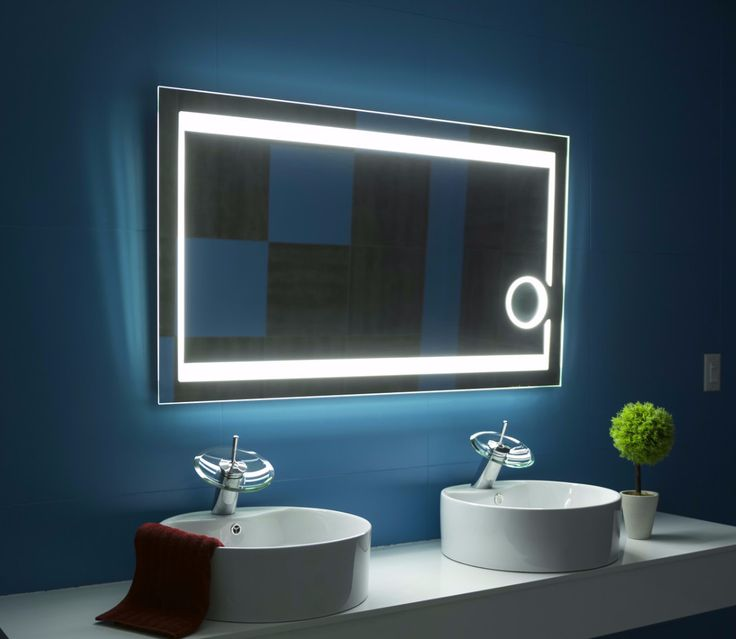 Gallery Website Dimmable Lighted mirror Aurora X