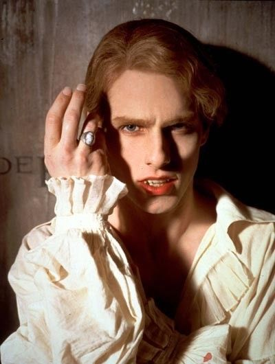 Tom Cruise as Lestat in Interview with the Vampire...Oh so Classic