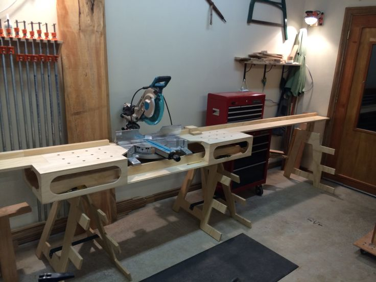 Joe Atris Tree Woodworking Built A Miter Saw Stand From