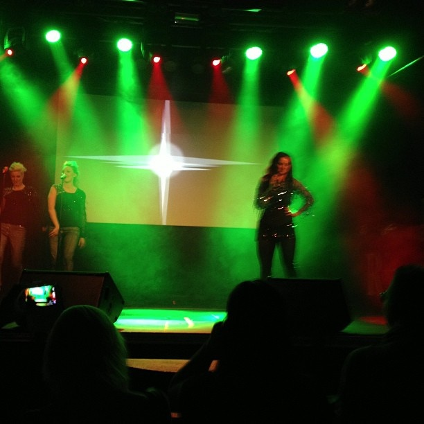 Instagram photo from Ritz Nightclub gig - 1 March 2013. From user praaggee. #jennyberggren #aceofbase #clubritz #orebro